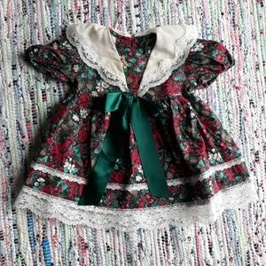 Other - 12 Month Vintage Christmas Dress